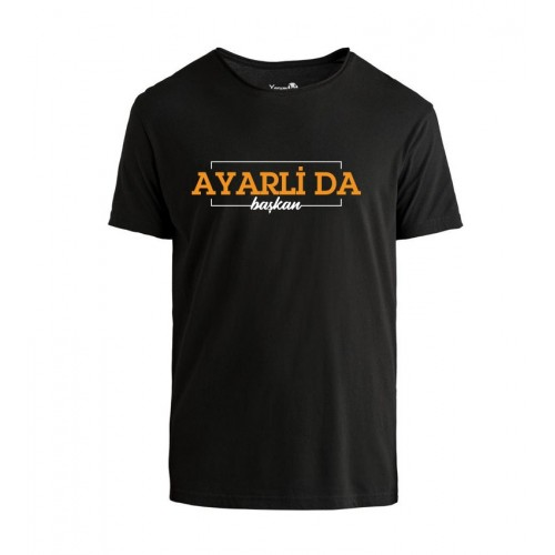 Ayarli Da Başkan Tshirt