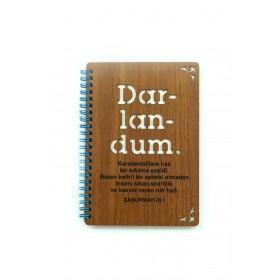 Ahşap Defter - Darlandum